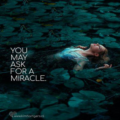 Je mag vertrouwen op wonderen